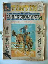 Journal de Tintin N°950 du 01/1967   La ranchomanie