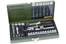 """Proxxon 23080 Feinmechaniker Steckschlüssel Satz 1/4"""" Nüsse 36-tlg. Werkzeug Set"""