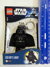LEGO Star Wars - DARTH VADER MiniFigure - LED KEY LIGHT - Key Chain - Ages 5+