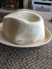 Vintage Old School Kangol Wool Arnold Trilby Hat Size Small.