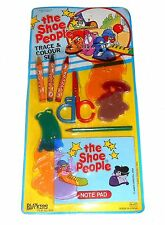 1980's The Shoe People - TRACE & COLOUR SET - New Old Shop Stock