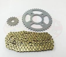 Heavy Duty Chain & Sprockets Set GOLD for Superbyke RMR 125 RMR125