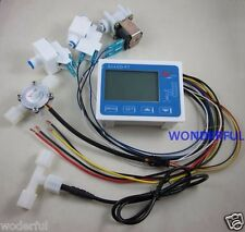 RO Pure Water Filter Controller Display+Solenoid Valve+Switch+Flow Sensor+TDS