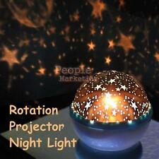 Rotating Sky Cosmos Star Romantic Night Light Projector Luminous Lamp Child Gift
