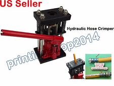 Newly Hydraulic Hose Crimper 6T Hand tool 13 - 29 mm Pipe