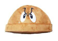 Hot Super Mario Bros.Goomba PLUSH TOY CAP  Hat Cosplay