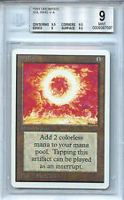 MTG Unlimited Sol Ring BGS 9.0 (9) Mint Card Magic The Gathering WOTC