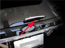 Triple Chrome Rear Wiper Cover Trim For 2016 Ford Explorer ABS Windshield