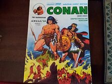 Conan The Barbarian Annual '80 Special Edition - Spanish 1979