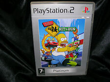 Simpsons: Hit & Run, PlayStation 2 Game, Trusted Ebay Shop and,