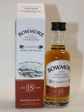 Bowmore malos 15 years whisky 50 ml 43% mini botella bottle Miniature bottela