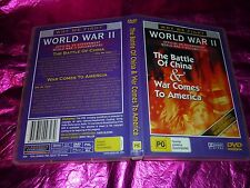 THE BATTLE OF CHINA & WAR COMES TO AMERICA : (DVD, PG)