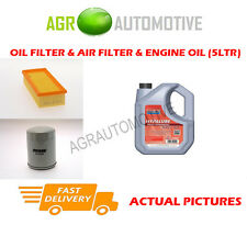 PETROL OIL AIR FILTER KIT + FS 5W40 OIL FOR ROVER 414 1.4 103 BHP 1995-99