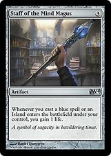 Staff of the Mind  Magus x4  EX/NM CHINESE M14  MTG Magic Artifact  Uncommon