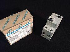 Siemens 5SU1 356-7KK06 RCBO Differential Circuit Breaker 30mA Delta