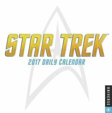 Star Trek Daily Day-To-Day 2017 Desk Box Calendar by CBS