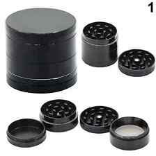 40mm 4 Layer Of Zinc Metal Plate Tobacco Grinder Smoke Herbal Herb Weed Grinder