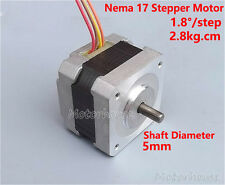 Nema 17 Stepper Motor 5mm Shaft Schrittmotor for CNC RepRap Prusa 3D Printer
