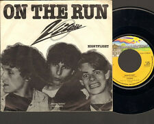 "VITESSE On the Run Nightflight SINGLE 7"" Herman van Boeyen 1979 Bovema Negram"