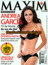 Spanish Maxim 9/09,Andrea Garcia,Lauren Jones,September 2009,NEW