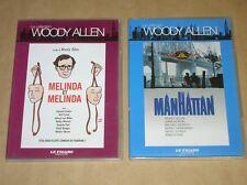 LOT 2 DVD WOODY ALLEN / MANHATTAN + MELINDA ET MELINDA / TRES BON ETAT