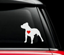I love My Pitbull Decal #2 Dog Grooming JDM Car Window Laptop Ipad Sticker