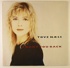 "12"" Maxi - Tove Naess - I Want You Back - B1716 - RAR - washed & cleaned"