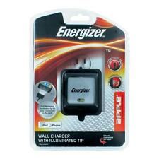 Energizer Travel Charger With LED For IPod IPhone Black 30-pin iPod Connector