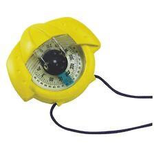 Plastimo Iris 50 Handheld Boat Yellow Sailing Compass