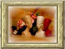 GIEßFORM ägypt. Kopf Büste Skulptur Gießformen latexform hobby