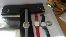 GENTS PIERRE CARDIN WRISTWATCH AND 2 OTHER WRISTWATCHES.SOLD AS SEEN.NO RESERVES