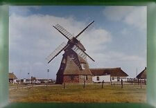 CPA Germany Mecklenburg Windmill Moulin a Vent Windmühle Wiatrak Folklore w161