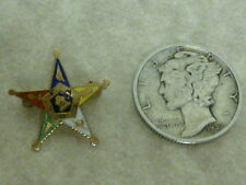 Vintage 14K yellow gold Order of the Eastern Star Badge