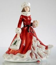 THE ENGLISH LADIES CO XMAS FIGURE. FESTIVE WISHES 15917. NEW AND BOXED