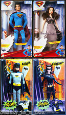 Catwoman Batman Superman Returns Lois Lane Super Hero Barbie Ken Doll Lot 4