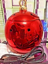Merry & Bright Scentsy Christmas Warmer RARE Holiday VHTF Collectible