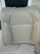 99-03 ACURA TL RIGHT FRONT PASSENGER SEAT BACK UPPER CUSHION TAN LEATHER OEM