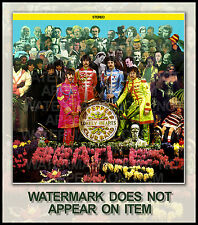 THE BEATLES SGT. PEPPER ALTERNATE ALBUM COVER #3