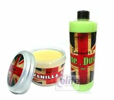 Bouncer's Vanilla Ice Premium Wax 250ml & Done & Dusted Quick Detailer Kit