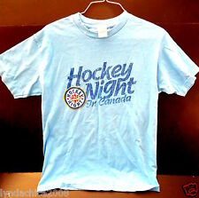 NHL HOCKEY NIGHT IN CANADA Shirt (Size SMALL) ***Licensed By CBC Sports***