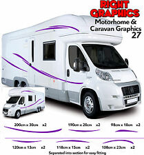 3m MOTORHOME VINYL GRAPHICS STICKERS DECALS SET CAMPER VAN RV CARAVAN HORSEBOX