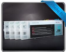 4 x 330ml Refillable cartridge suits Epson Stylus 7400 Cartridges T5431- T5434