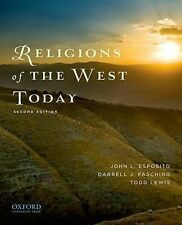 Religions of the West Today by Professor of Religious Studies Darrell J...