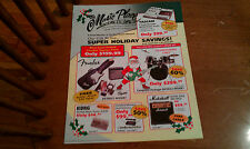 The Music Place Neighborhood Music Store Berlin NJ Vintage Mail catalog 90's???