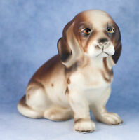 Vintage Ceramic 3 Inch Beagle Puppy Dog Figurine Made In Japan