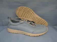 Womens Shoes ROCKPORT WASHABLE Size 7 M LIGHT BLUE WALKING OXFORD SNEAKER EXC