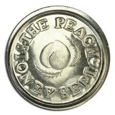 Game Of Thrones Peach Silver Brothel Token Coin
