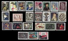 France. Art / Painting. Famous painters. Nice collection of MNH stamps (BI#15)