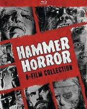 Hammer Horror 8-Film Collection Blu-ray Set Peter Cushing Herbert Lom Scott NEW