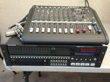 Mackie SDR 24/96 24-Bit 24-Track Hard Disk Recorder and Mackie DFX-12 Mixer